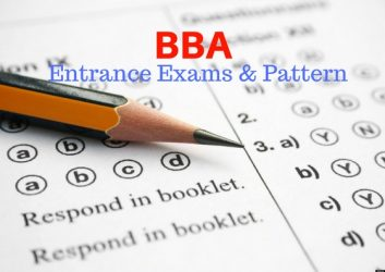 bba entrance exams